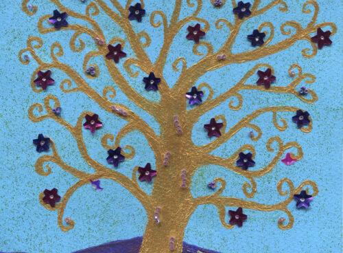 125 Golden tree