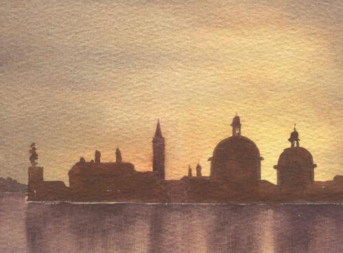 197 Venetian sunset