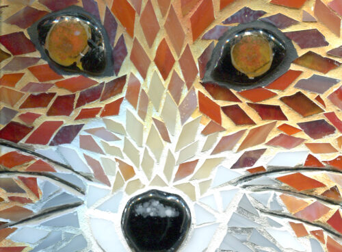 353 Mosaic fox