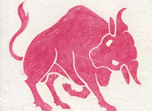 87 Big red bull